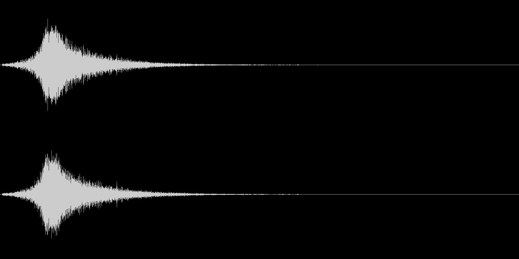フシューン(風の音、風の魔法)の未再生の波形