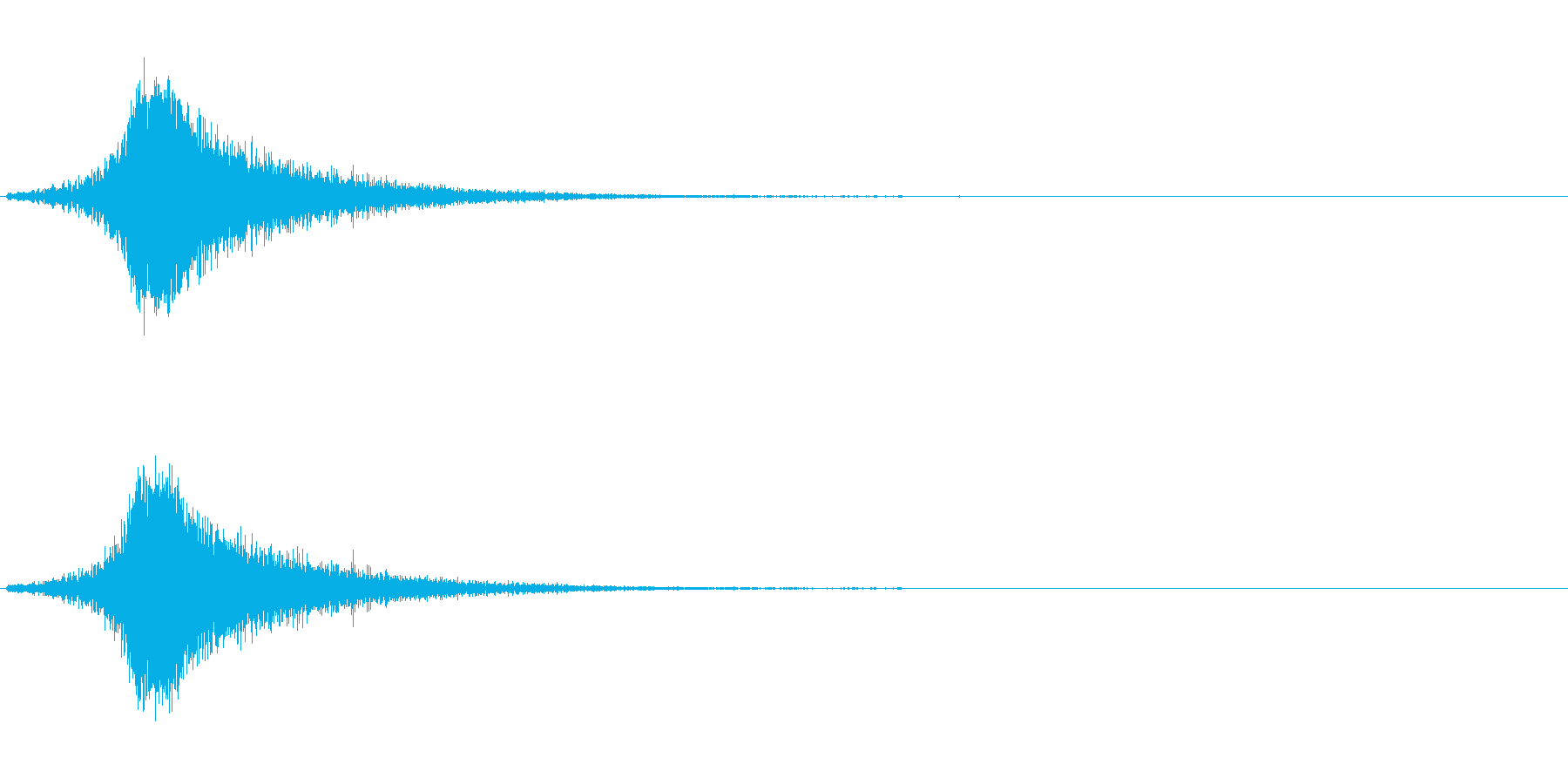 フシューン(風の音、風の魔法)の再生済みの波形