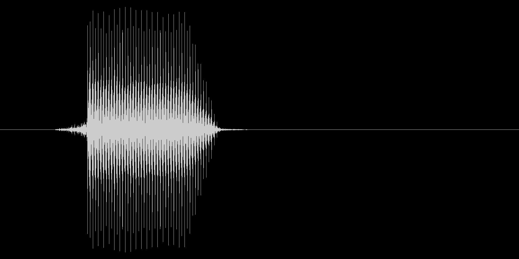 ゲーム(ファミコン風)セレクト音_018の未再生の波形