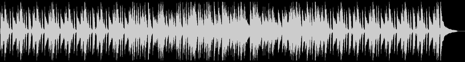 おしゃれなピアノトリオのアドリブジャズの未再生の波形