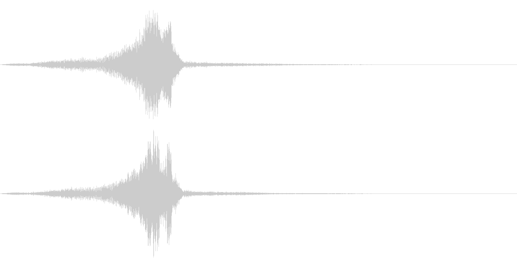 TV RADIO SFX13 フリップの未再生の波形