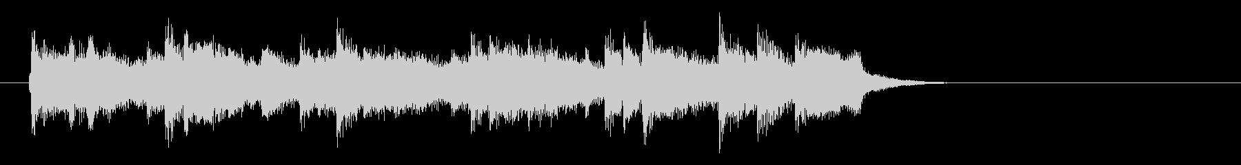 アコースティックバラード(イントロ)の未再生の波形