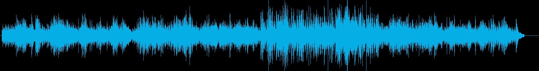 しっとりした切ないピアノのインスト曲の再生済みの波形