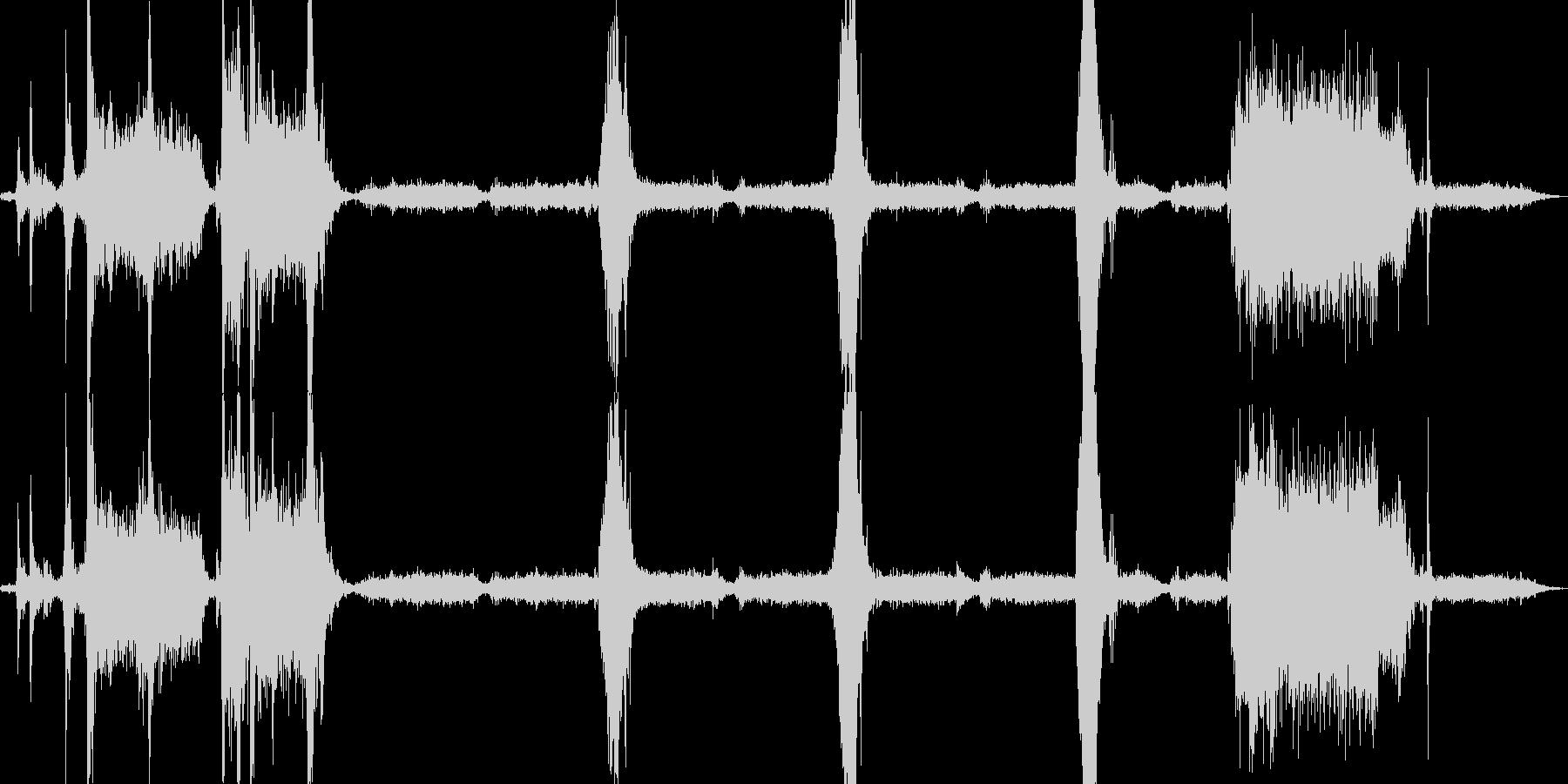 プリンタで印刷の未再生の波形
