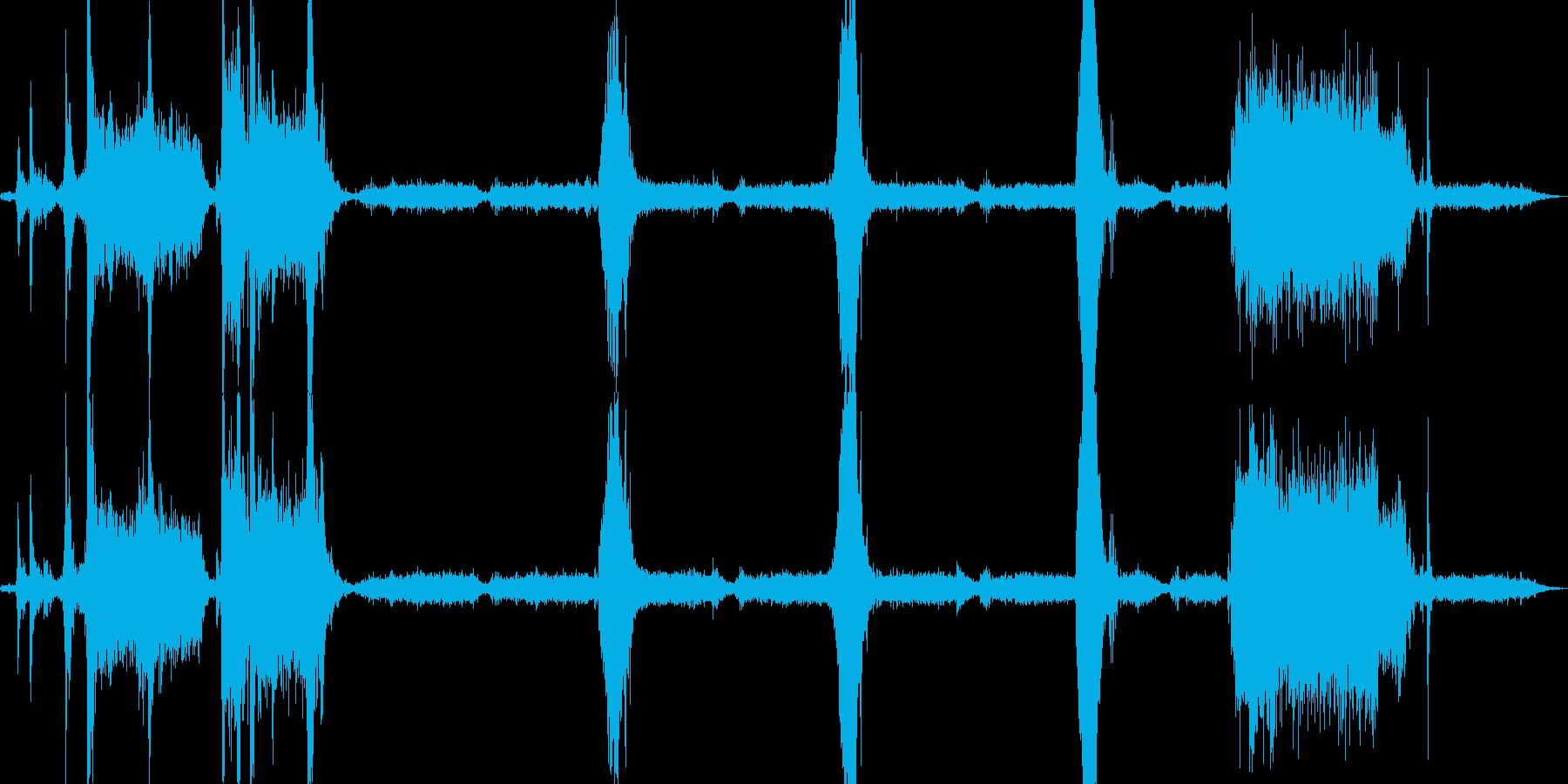プリンタで印刷の再生済みの波形