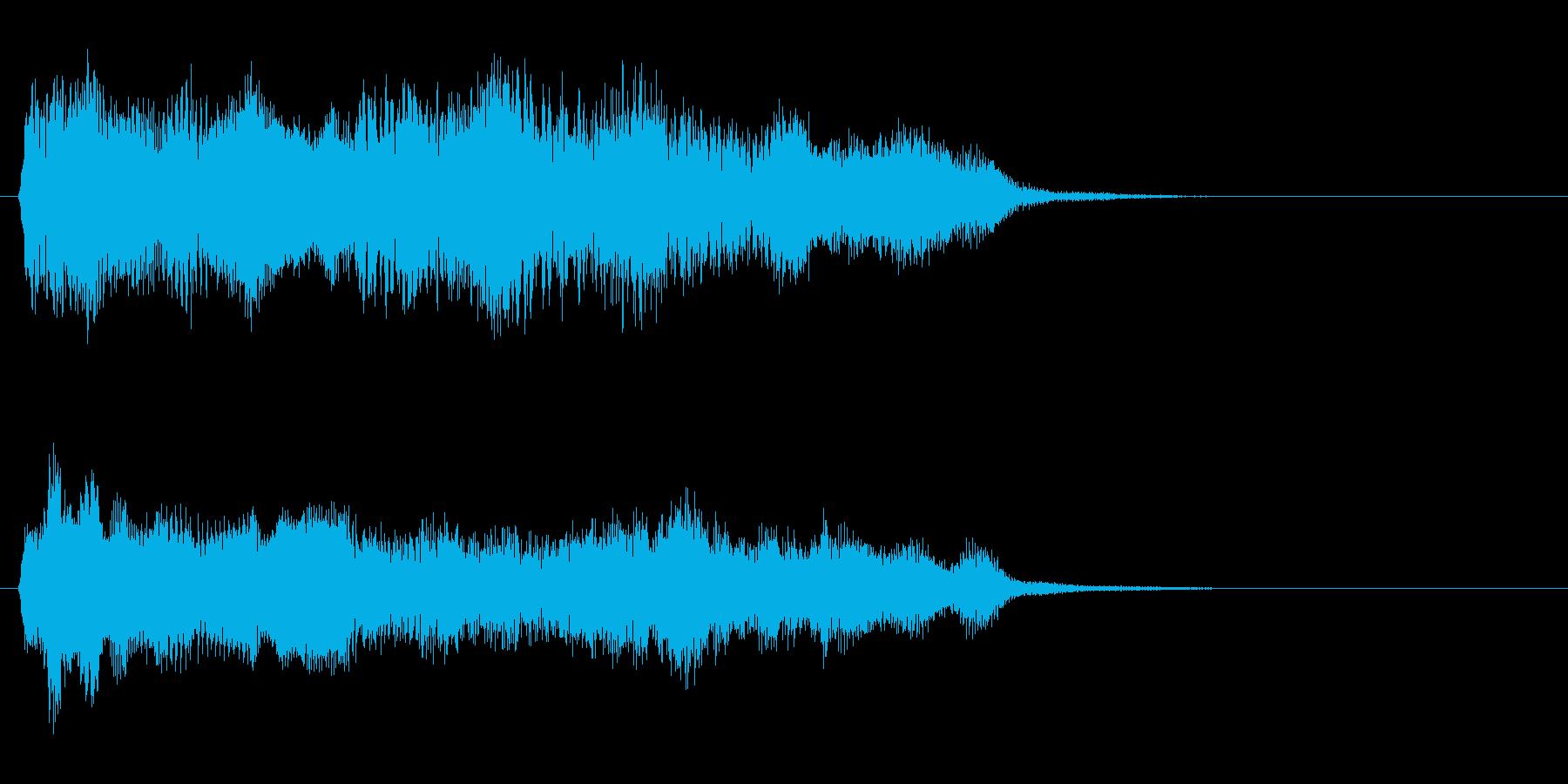 バロック2 ゲームオーバーの再生済みの波形