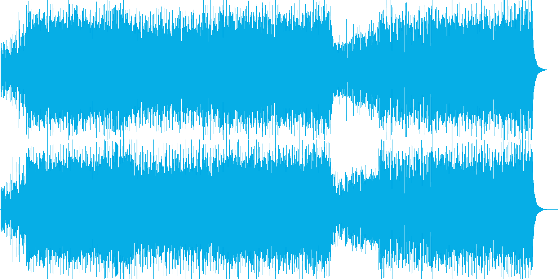 【EDMトランス】ラジオ・放送・映像向けの再生済みの波形