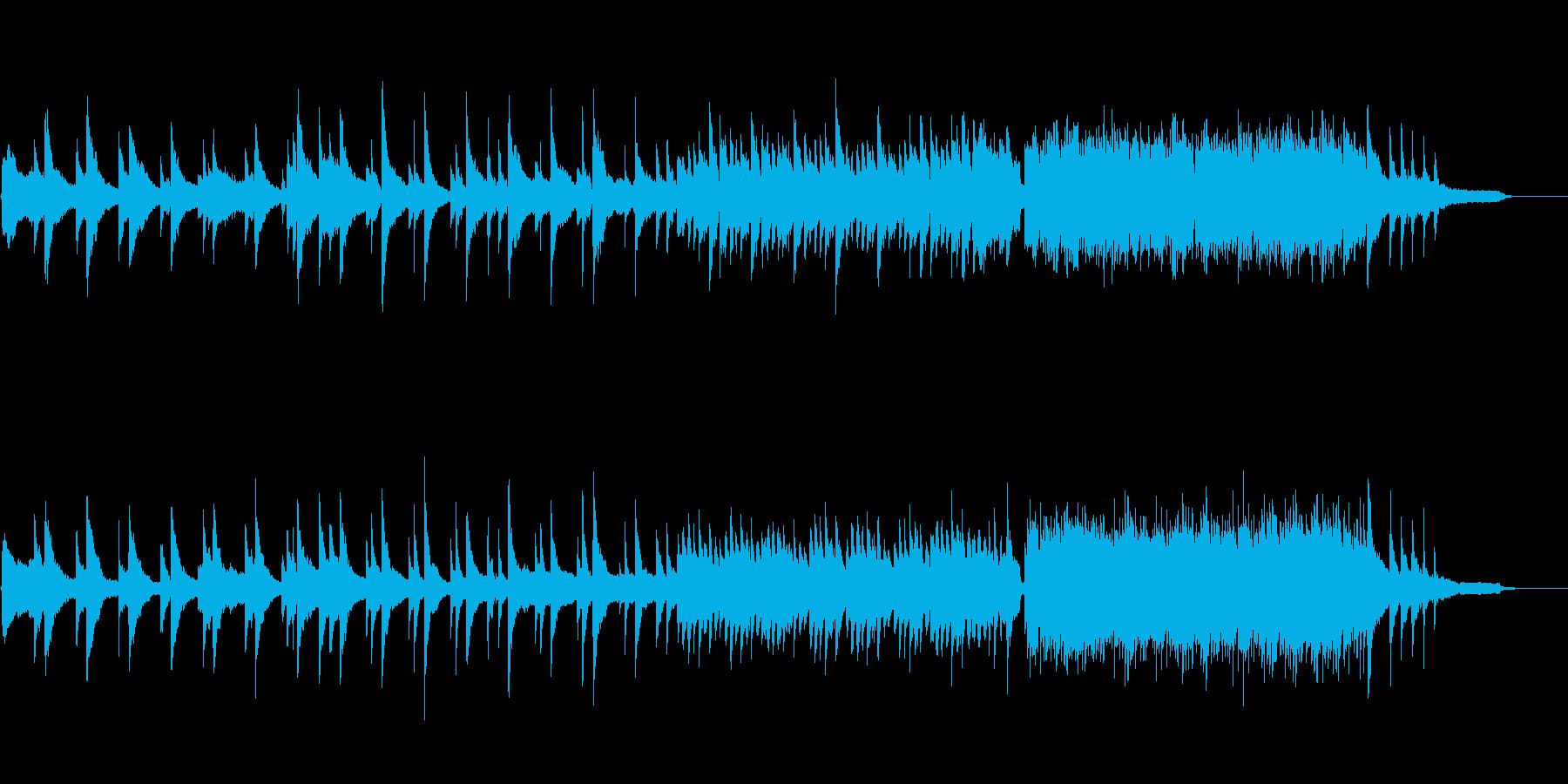哀愁 幻想 ピアノソロの再生済みの波形