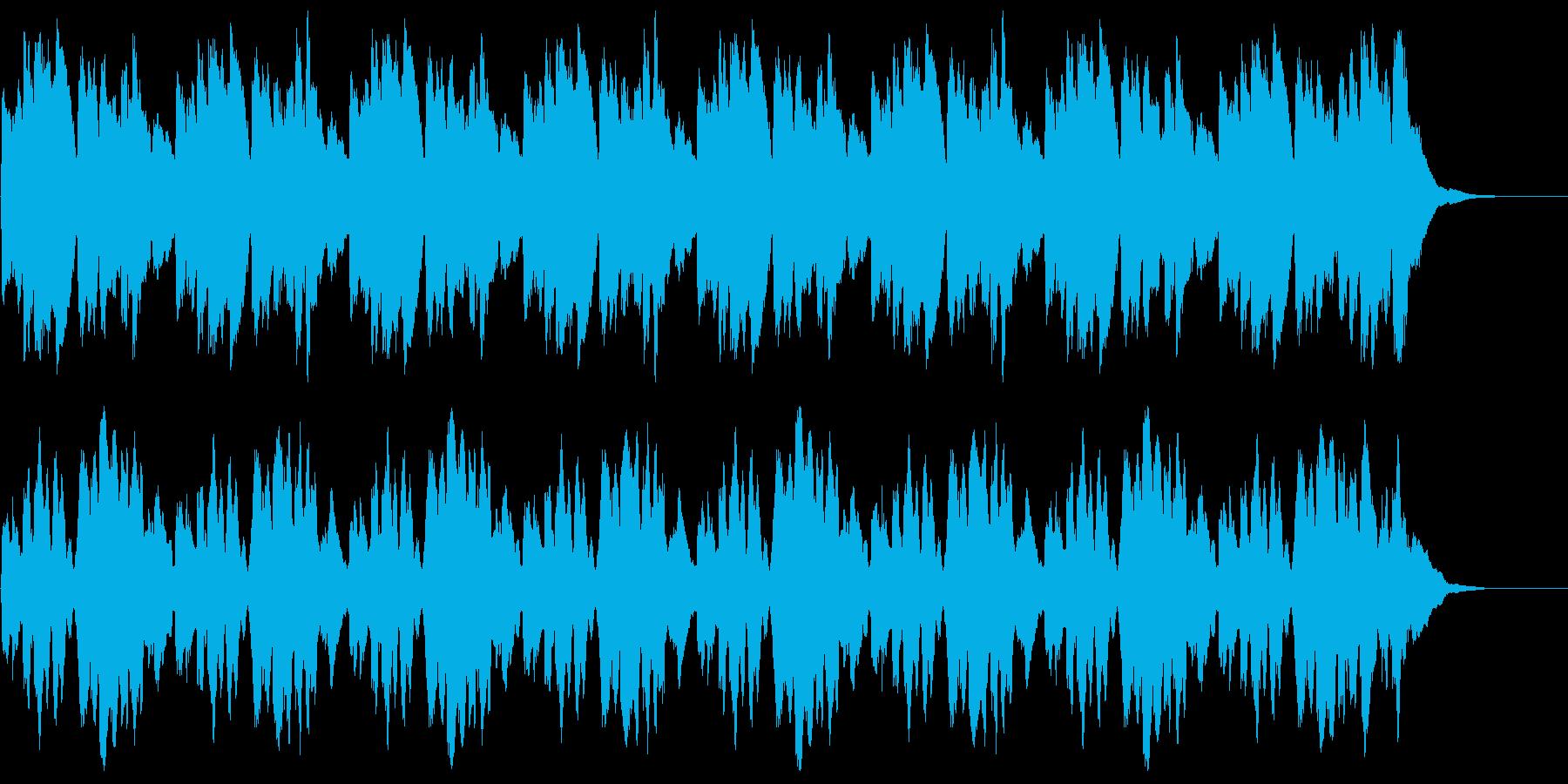 ゲームやアプリのBGMですの再生済みの波形