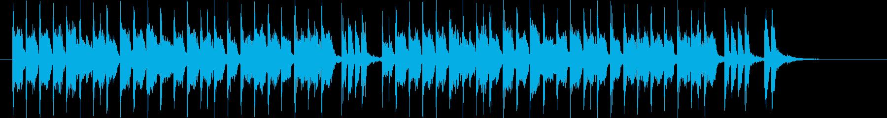 可憐でキャッチ―なシンセポップジングルの再生済みの波形