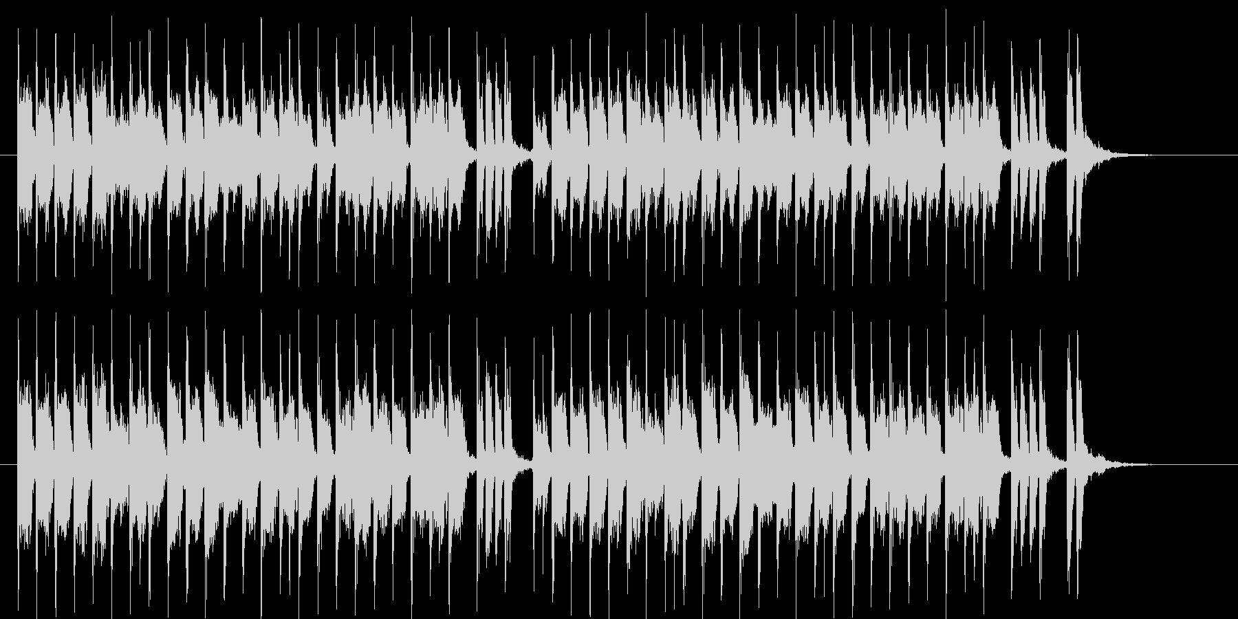 可憐でキャッチ―なシンセポップジングルの未再生の波形