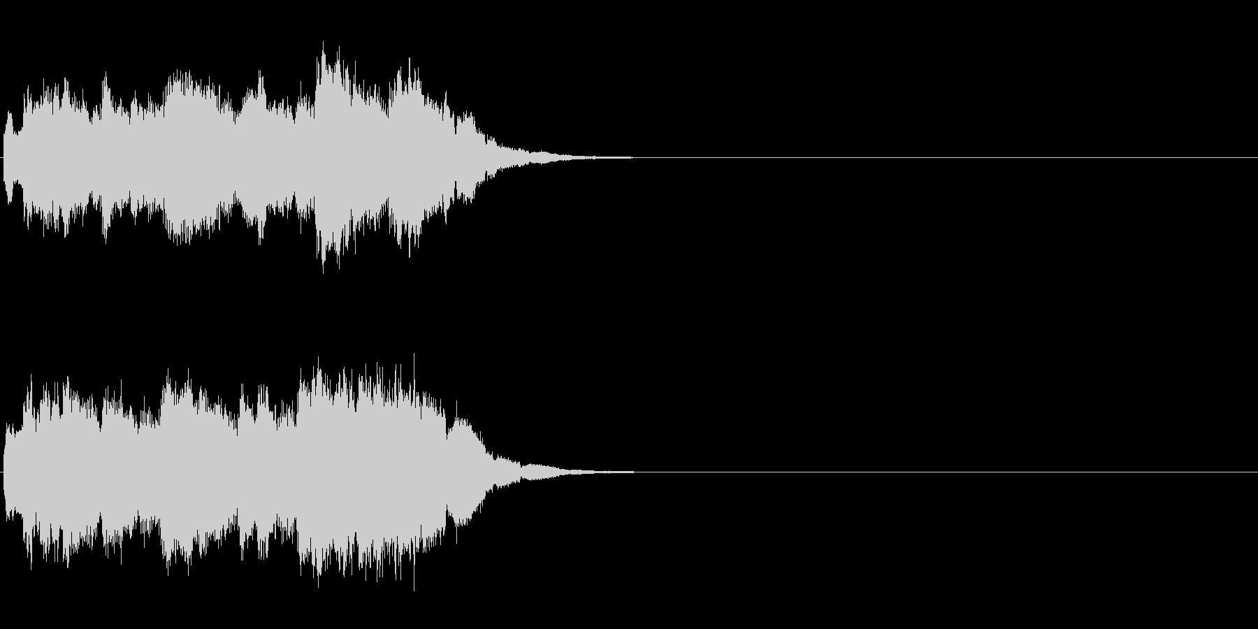 綺麗なクリスタルアルペジオのキラキラキ…の未再生の波形