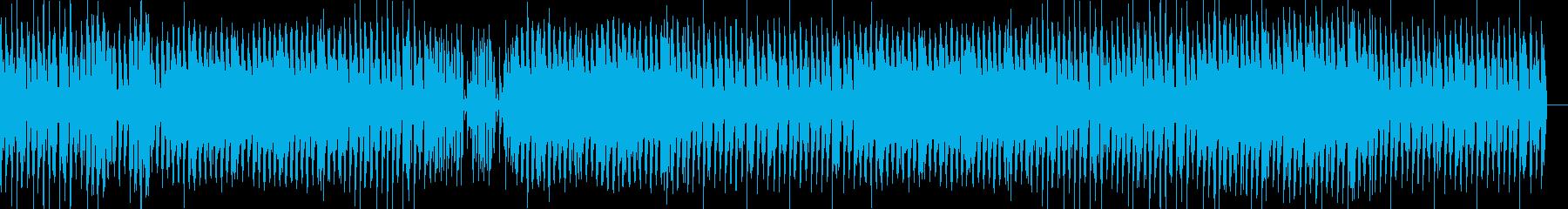 ピアノがお洒落な近未来的BGMの再生済みの波形