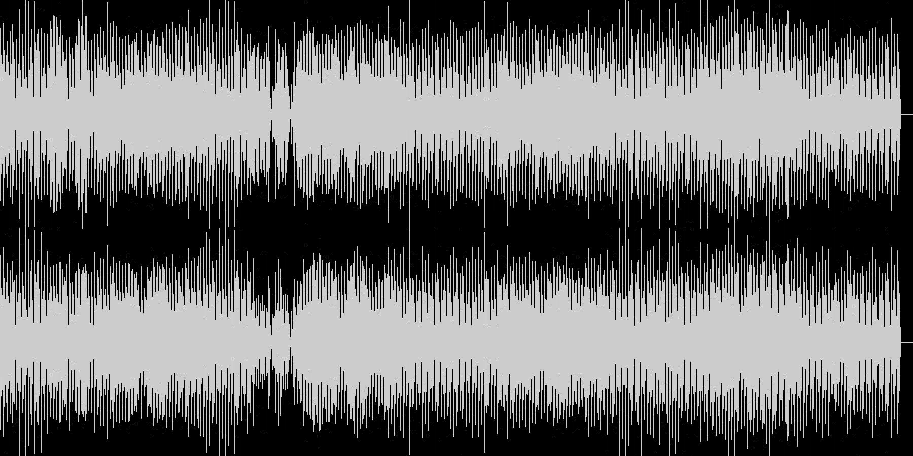 ピアノがお洒落な近未来的BGMの未再生の波形