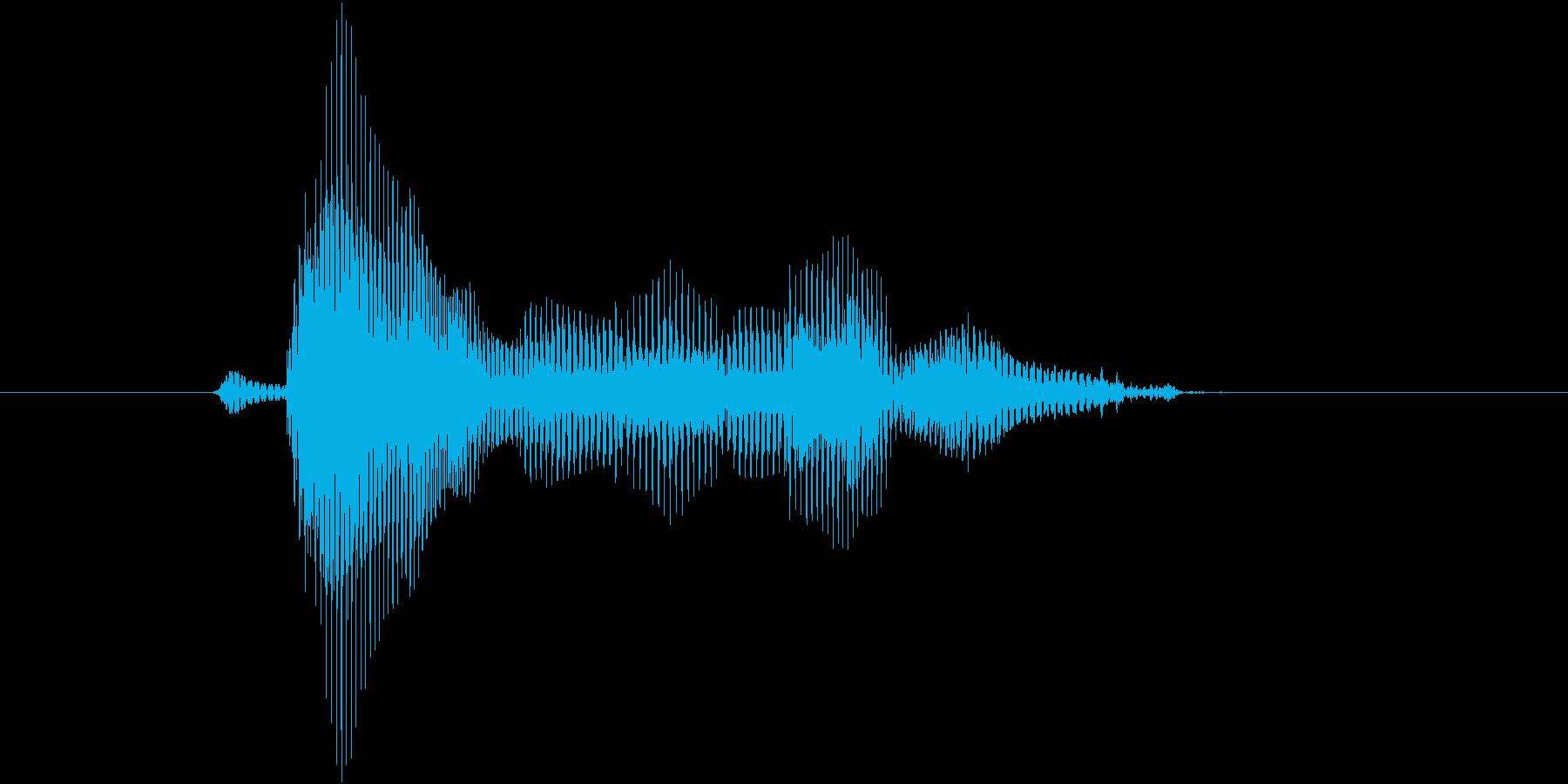 第七問(だいななもん)の再生済みの波形
