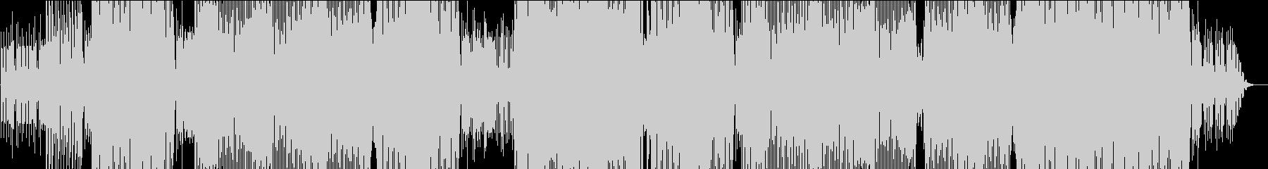 ポップでクールなEDMの未再生の波形