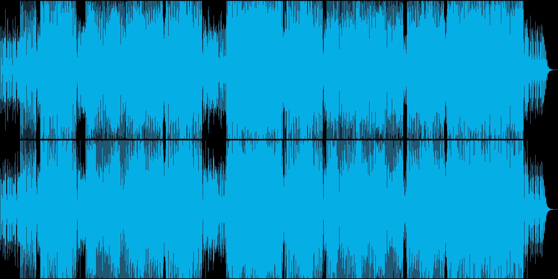 ポップでクールなEDMの再生済みの波形