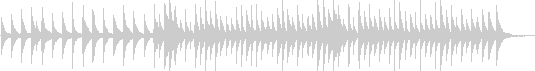 リラックス・ジャズ・映像・イベント用の未再生の波形