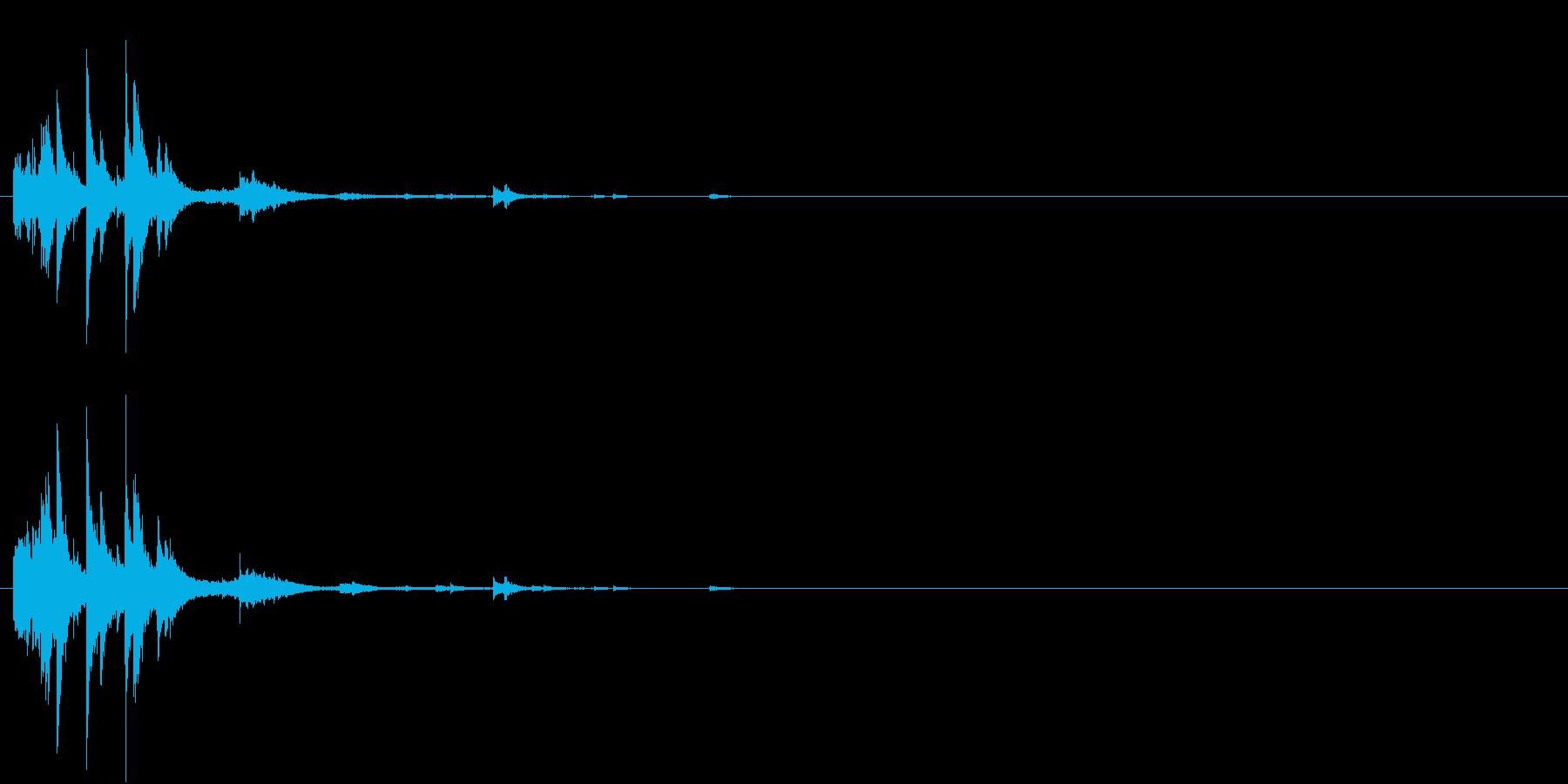 「シャシャーン」象徴的なソリベルの音6の再生済みの波形