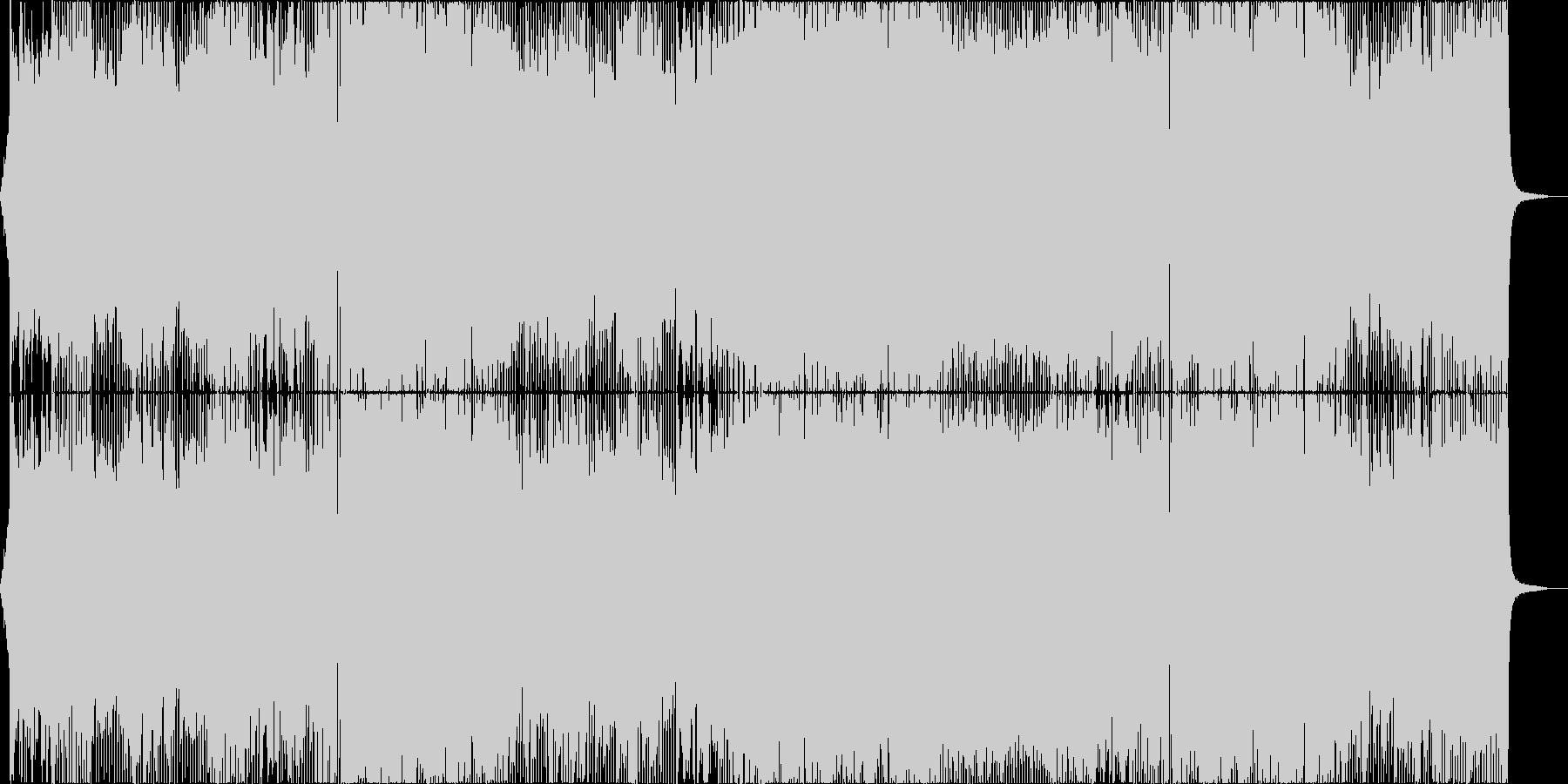 アニメ主題歌風のダンス曲_女性Voの未再生の波形
