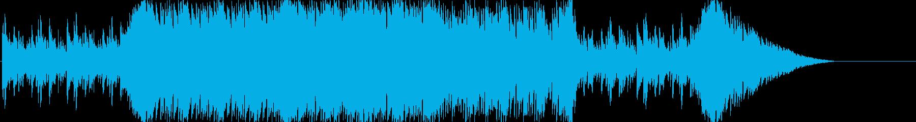 優しく爽やかなテクノ系イージーリスニングの再生済みの波形