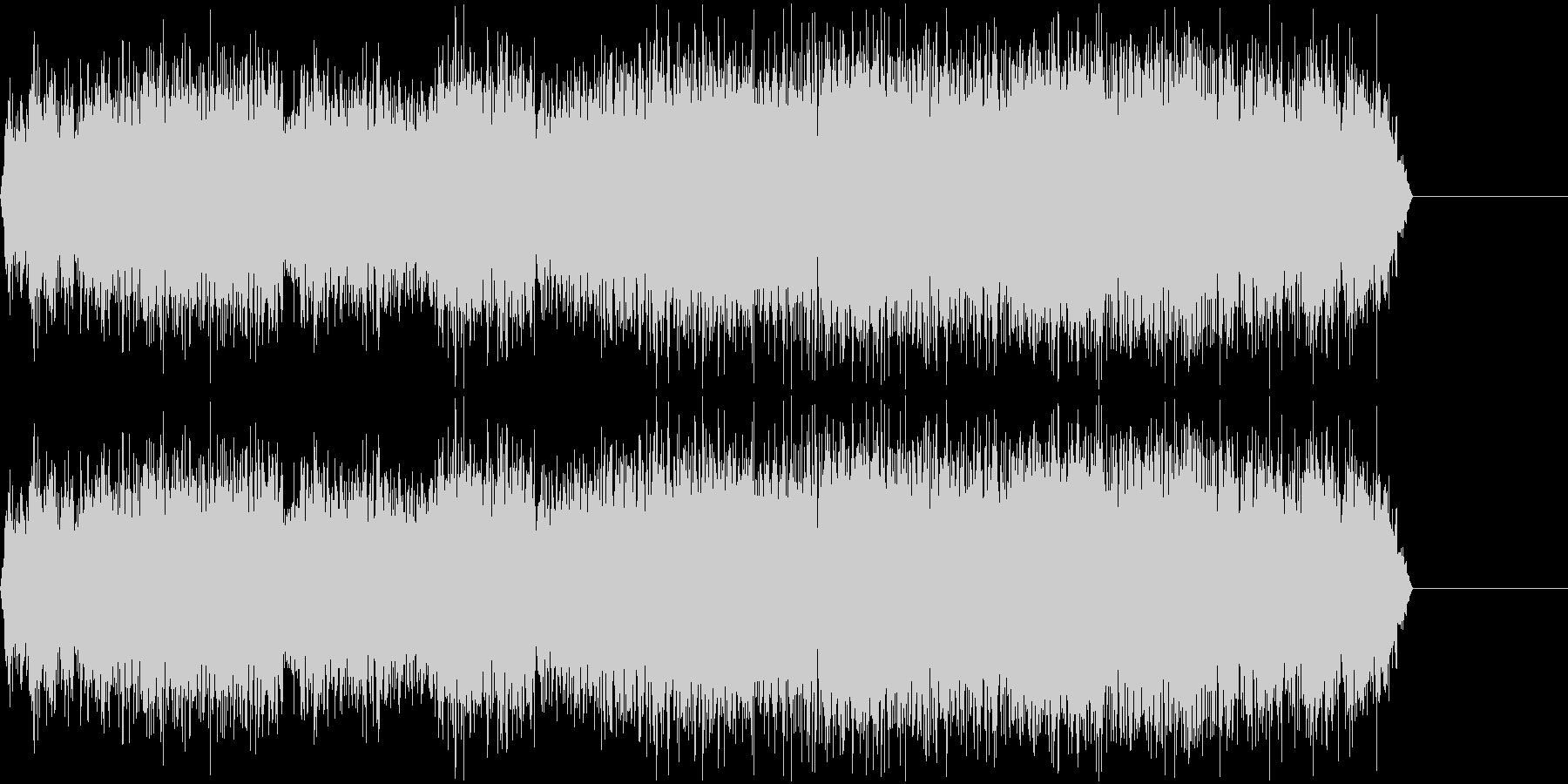 ガガガガガガ(機械で削るような音)の未再生の波形