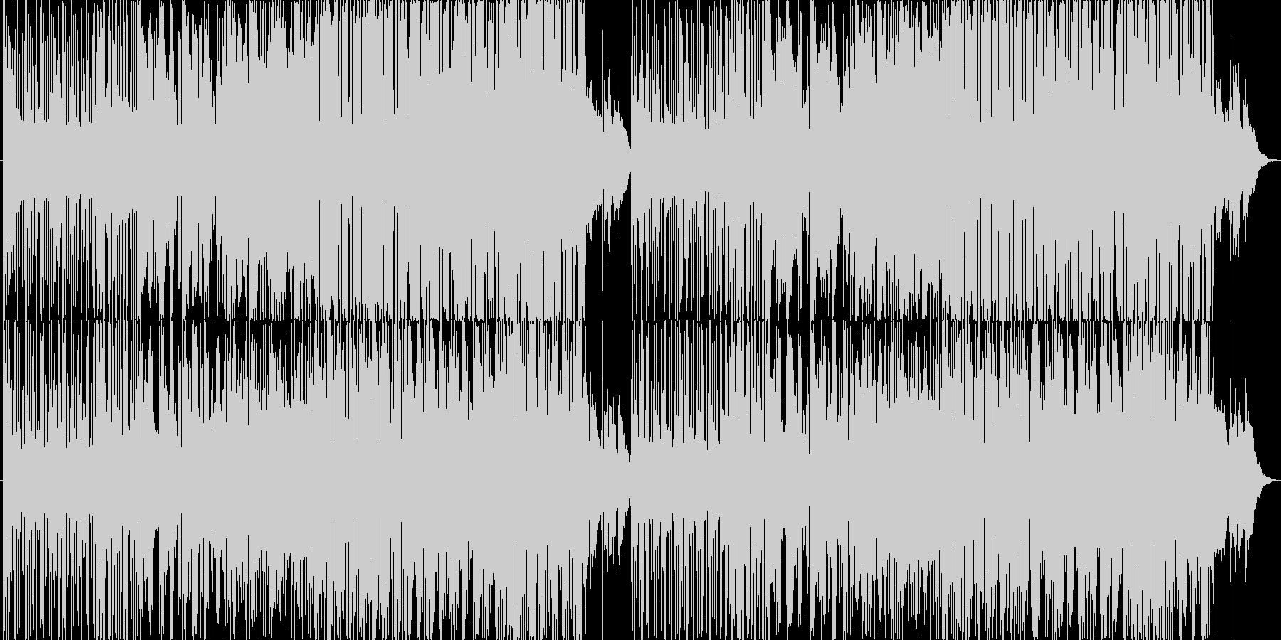 不思議な声がリピートする幻想的な曲。の未再生の波形