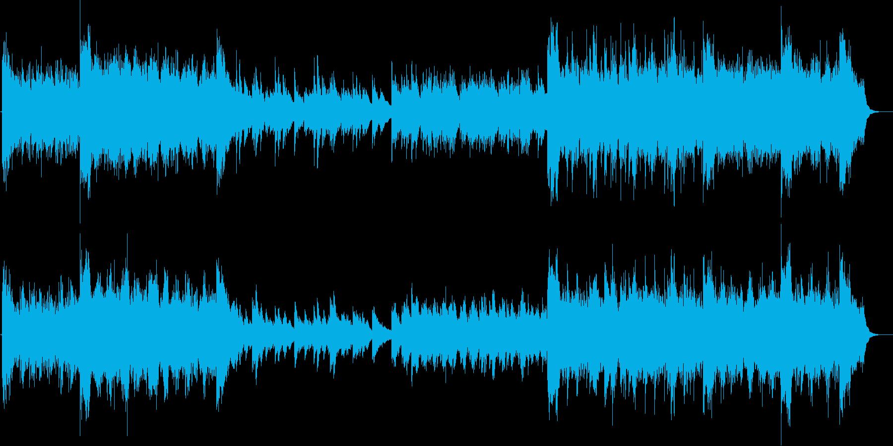 切ないピアノメロディーが印象的なバラードの再生済みの波形