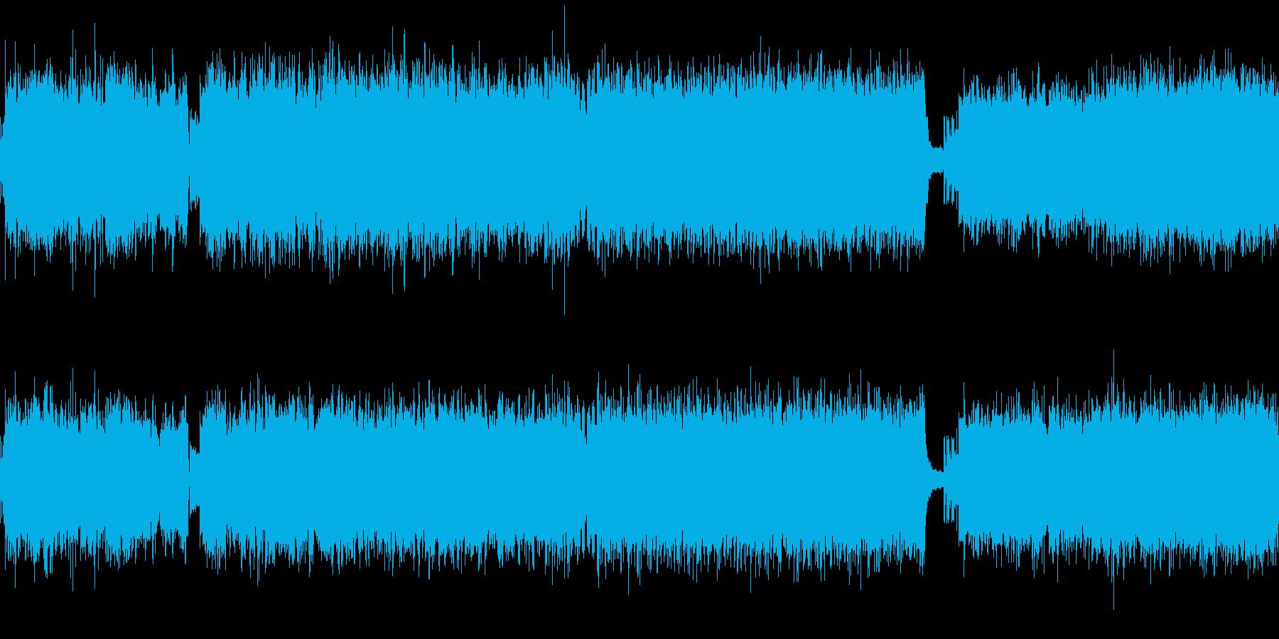 ツインギターでメタル調の通常戦闘曲です。の再生済みの波形