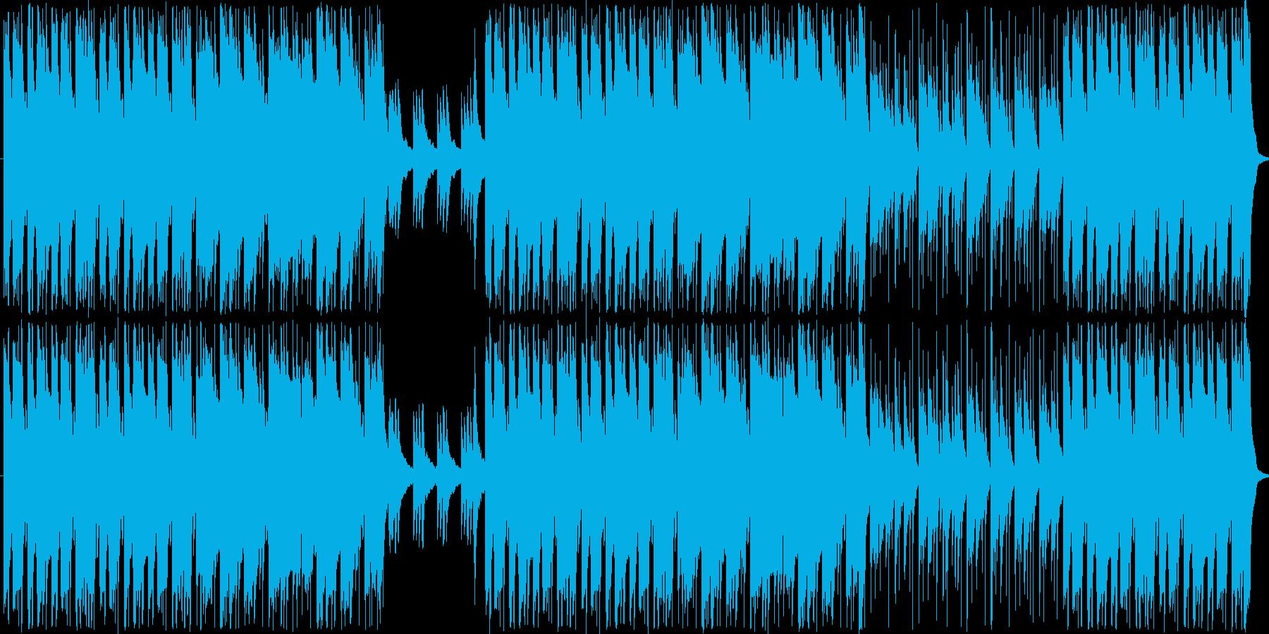ほのぼのしたポップの再生済みの波形