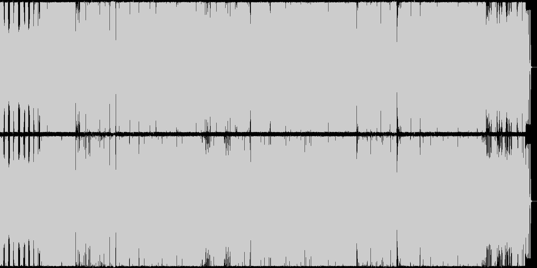 dubstep(ダブステップ)アレンジの未再生の波形