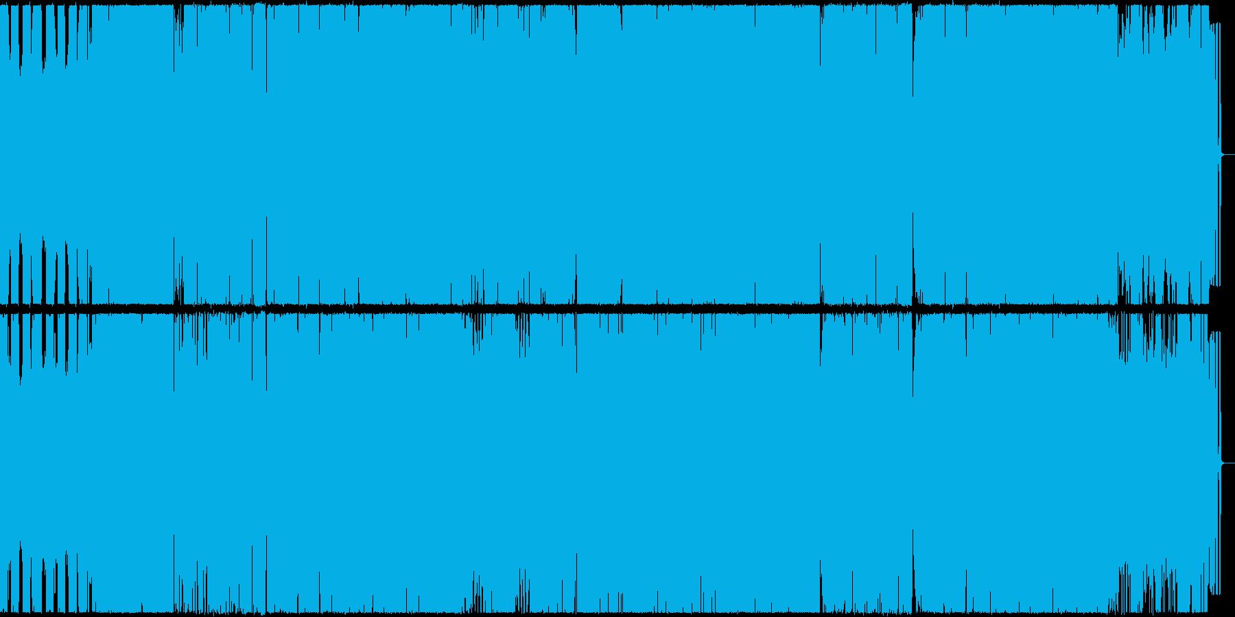 dubstep(ダブステップ)アレンジの再生済みの波形