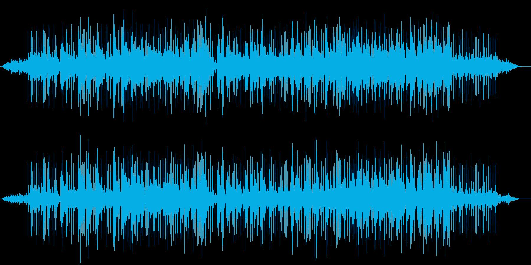 スライドギターの優しい曲の再生済みの波形