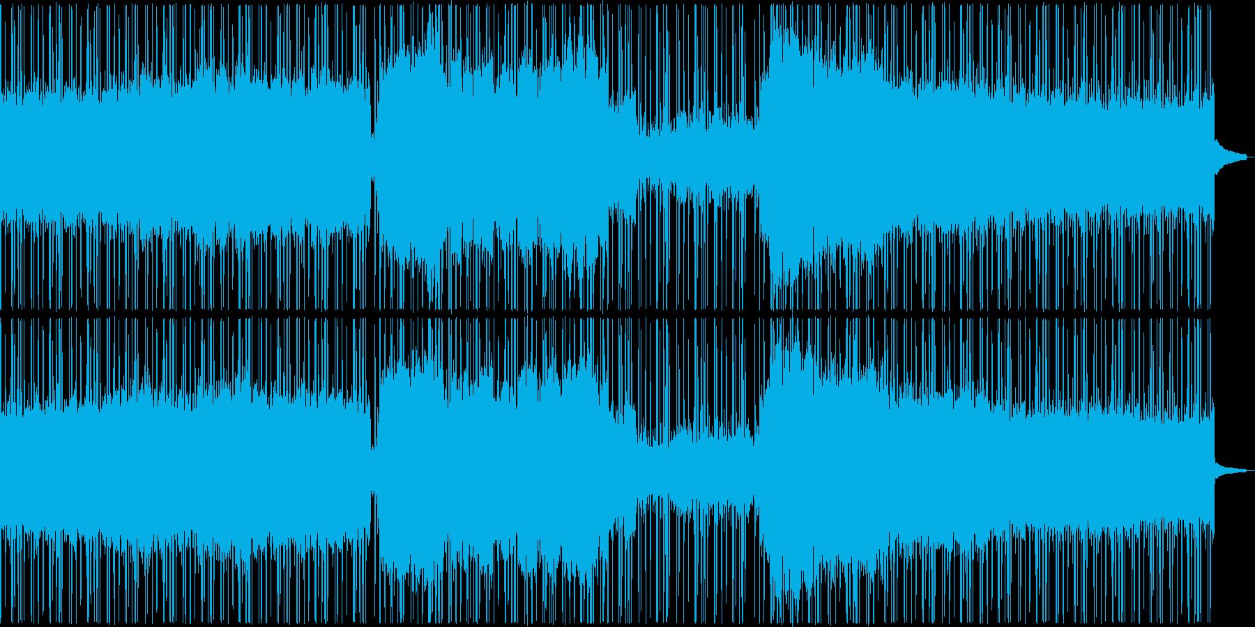 クールな和風ヒップホップの再生済みの波形