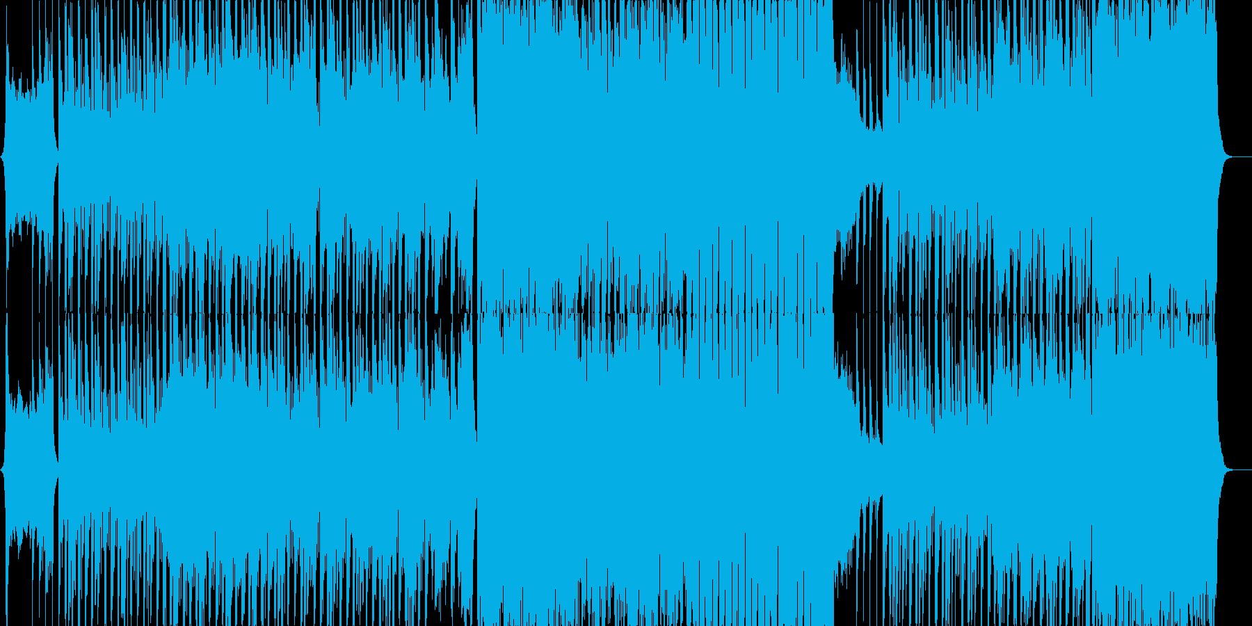 ベートーベン第九よりヒップホップ版の再生済みの波形