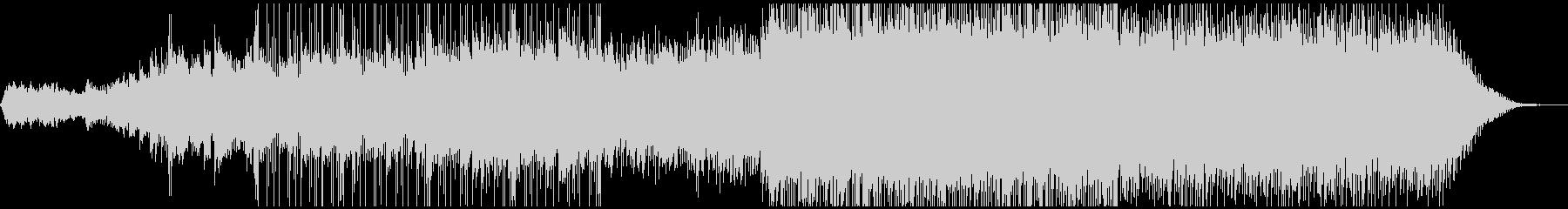 ピアノがきらきら綺麗なBGM2の未再生の波形