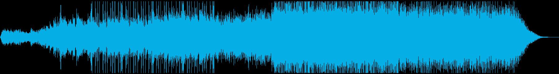 ピアノがきらきら綺麗なBGM2の再生済みの波形