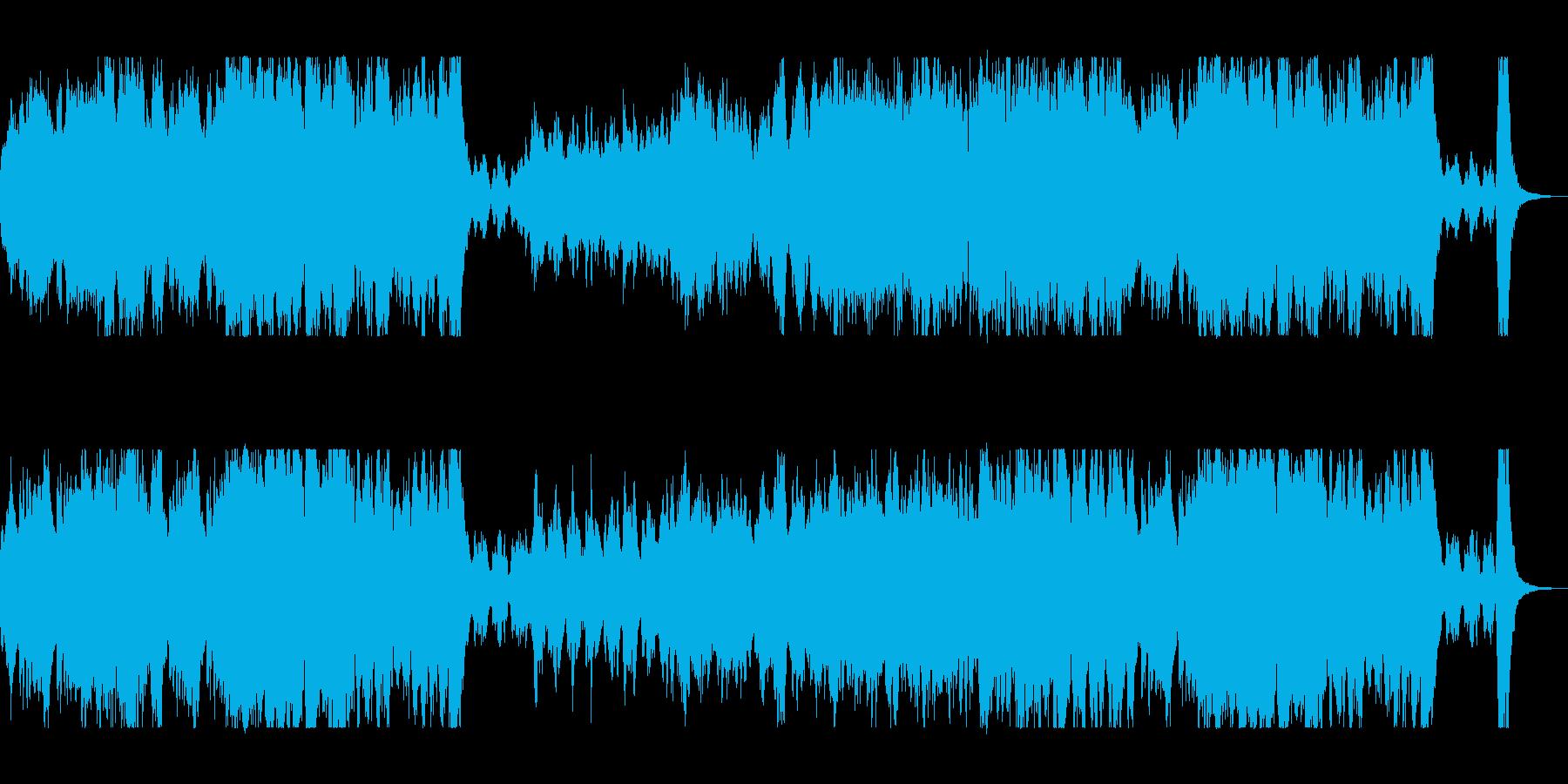 オープニングに最適なオーケストラの再生済みの波形