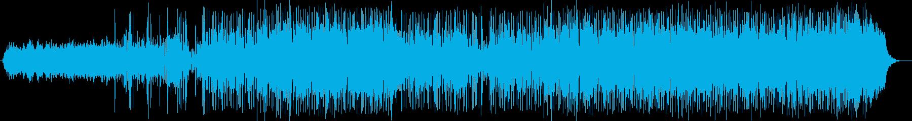 疾走感とファンタジーなシンセサウンドの再生済みの波形