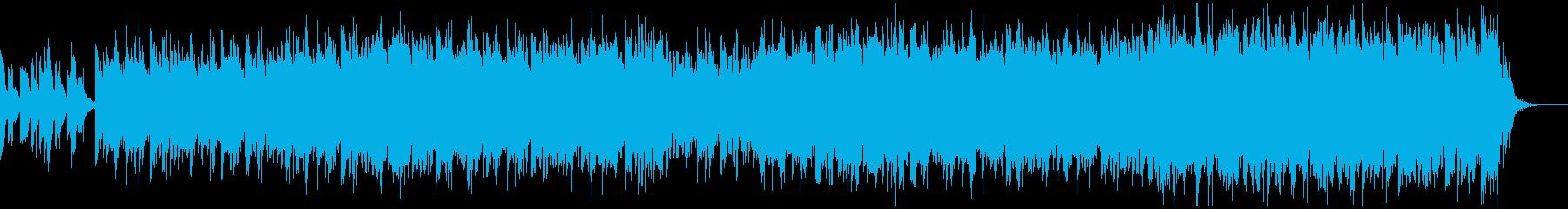 古墳のような遺跡のイメージのBGMの再生済みの波形