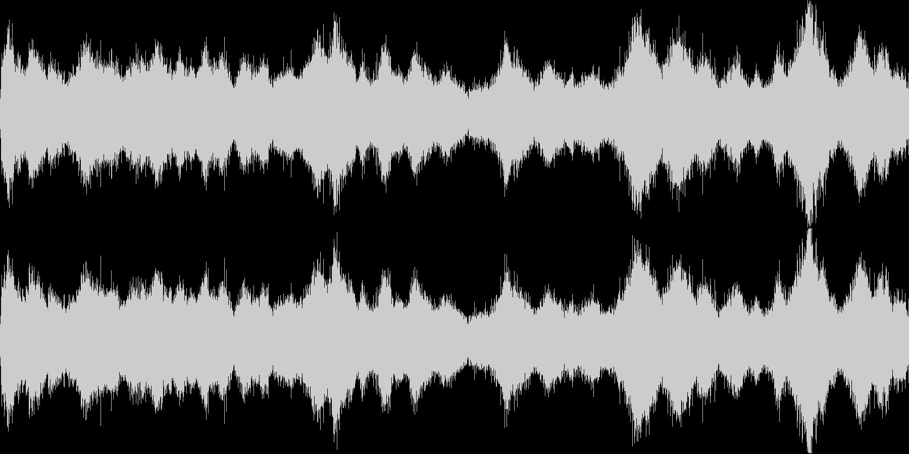 風が吹く2(環境音)の未再生の波形