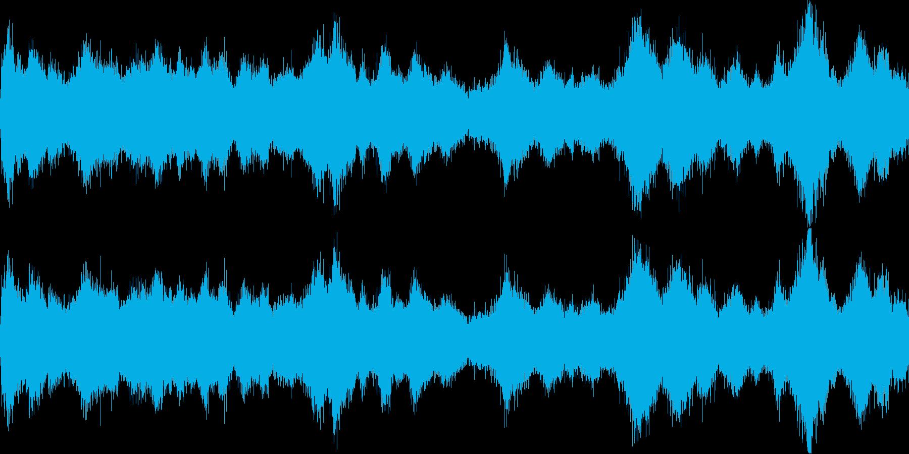 風が吹く2(環境音)の再生済みの波形