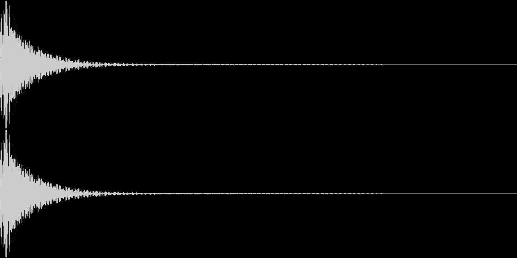 Cap フタ・栓を開ける音 11の未再生の波形