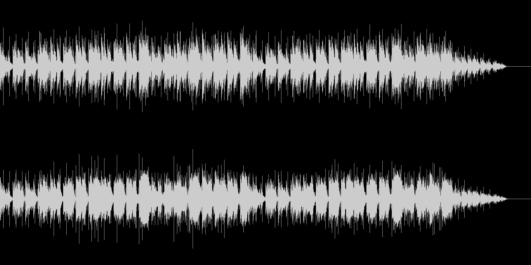 しっとりとしたピアノ(ループバージョン)の未再生の波形