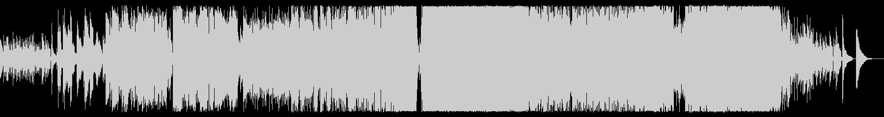アコギの旋律が印象的なロックバラードの未再生の波形
