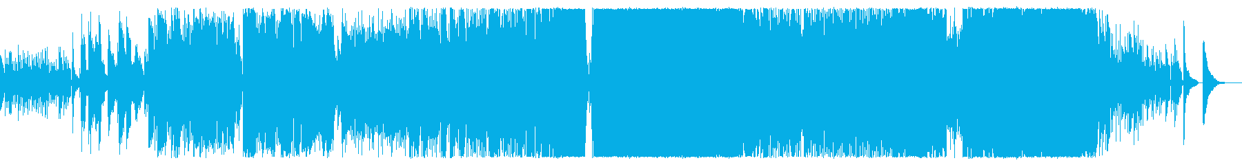 アコギの旋律が印象的なロックバラードの再生済みの波形