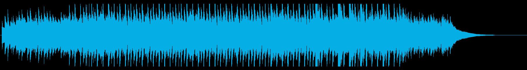 オープニングジングル 爽やか壮大な疾走感の再生済みの波形