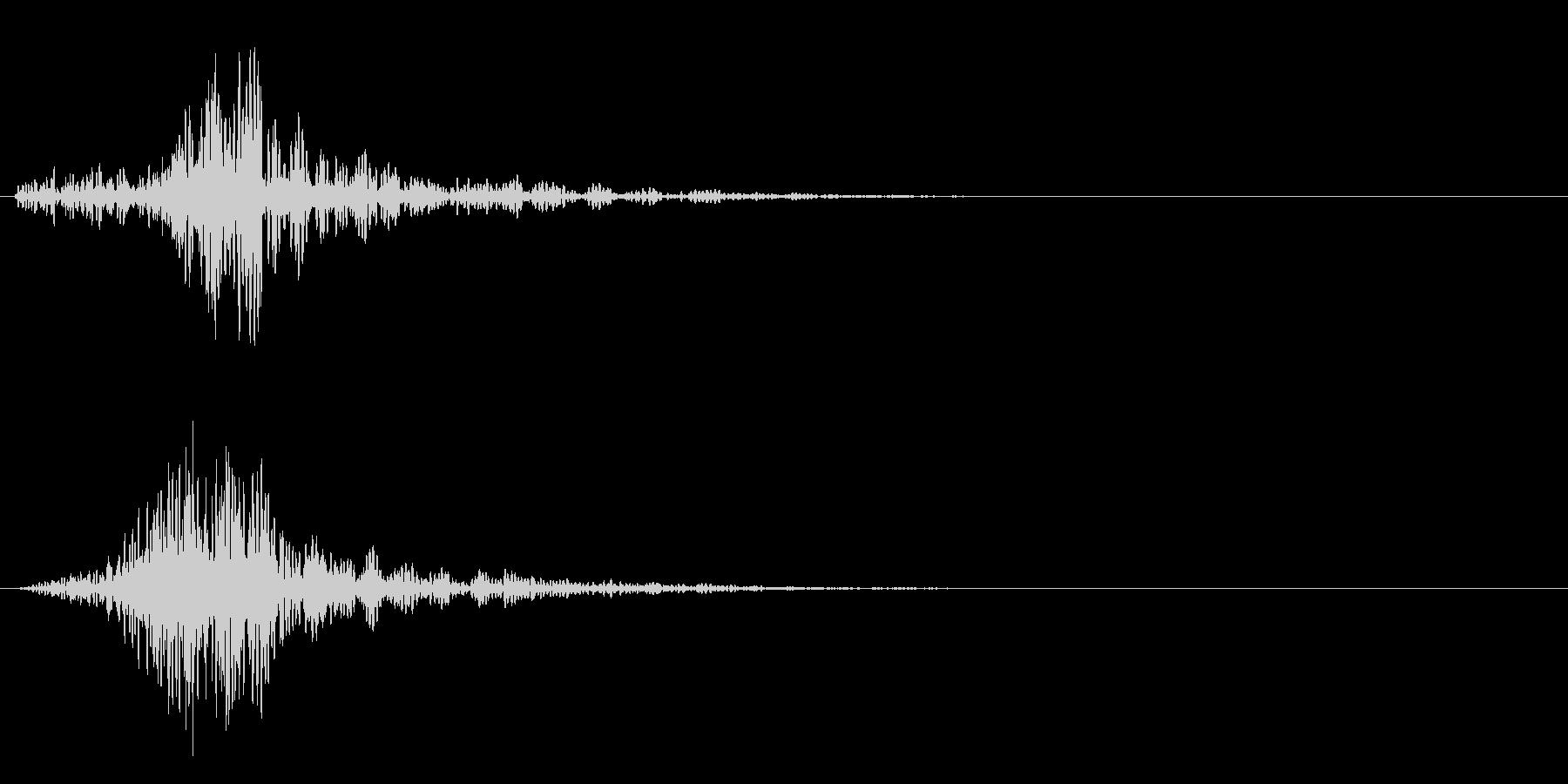 シャ!カットイン/風切り/サウンドロゴ2の未再生の波形