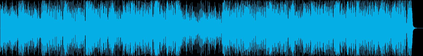 三味線と尺八のクールで力強い和風ロックの再生済みの波形