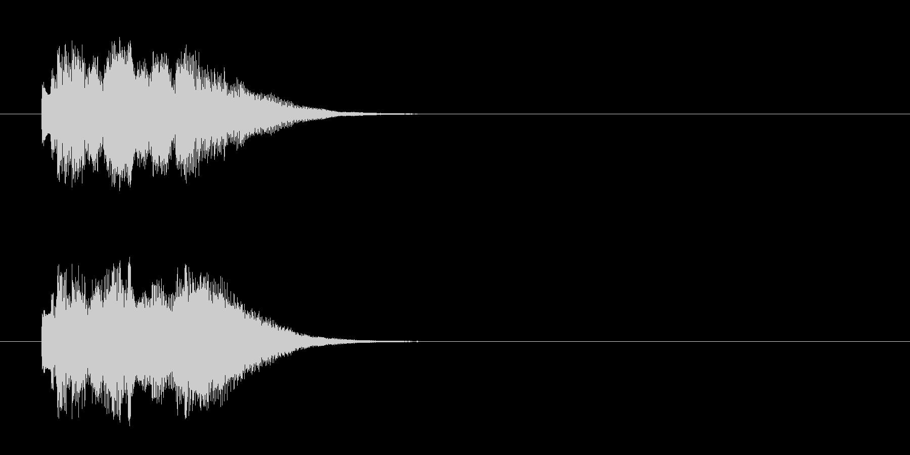 ジングル/神秘的・実験結果(環境)の未再生の波形